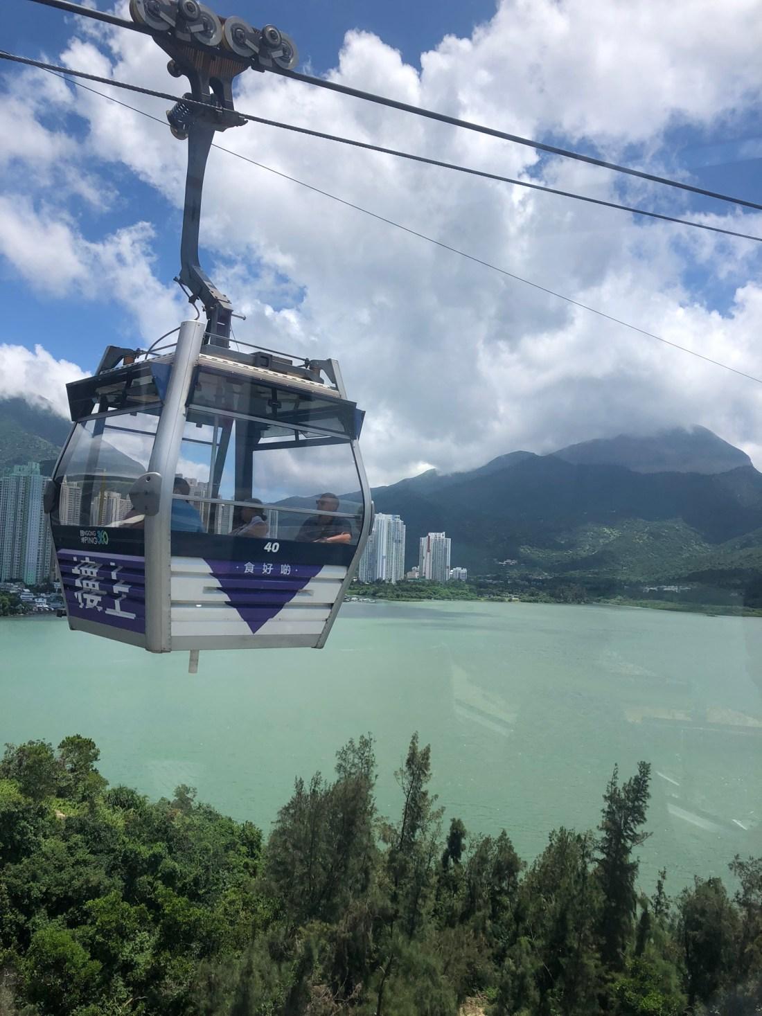Gondola on Lantau Island