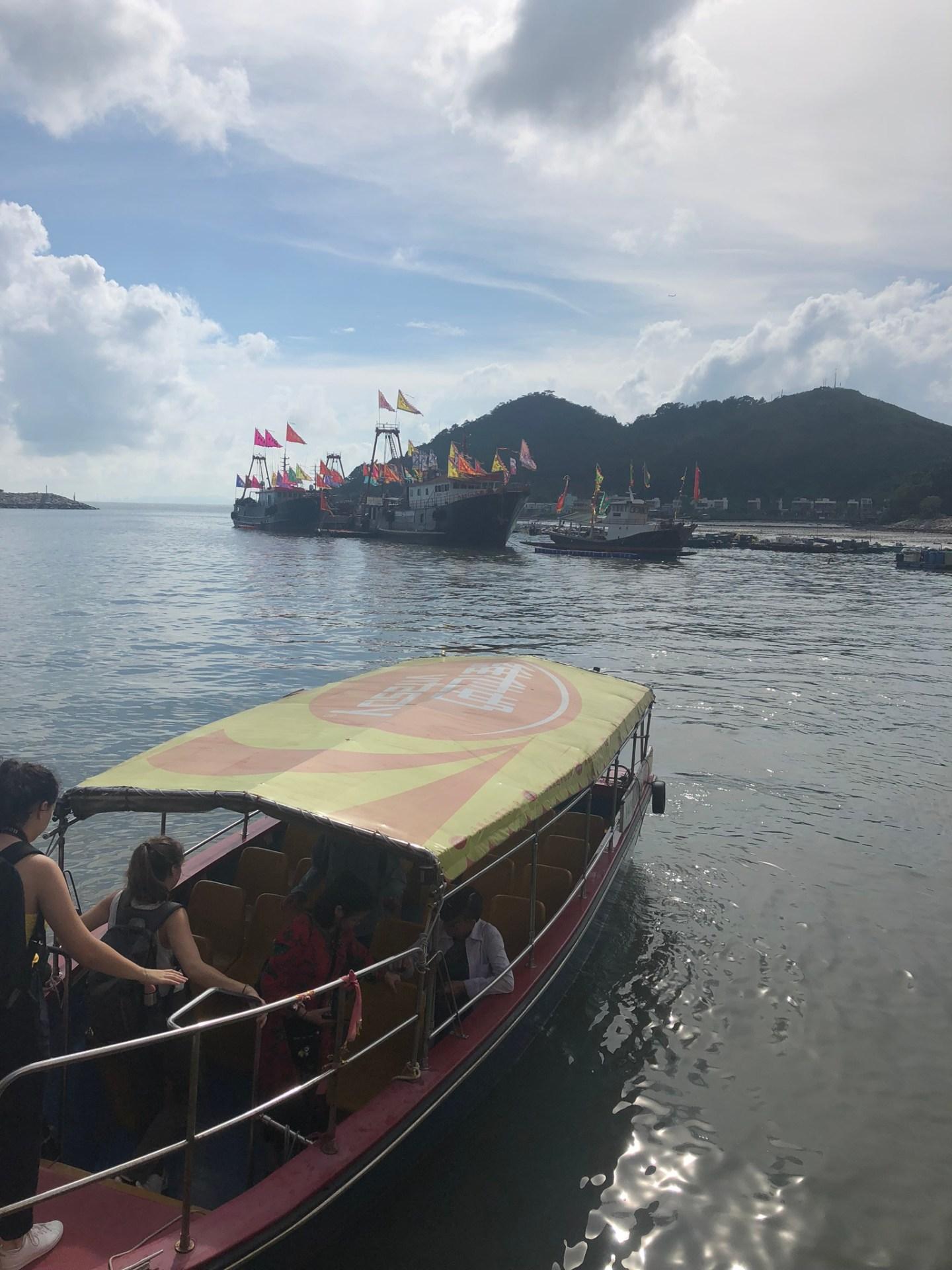 Boats at Tai O Fishing Village