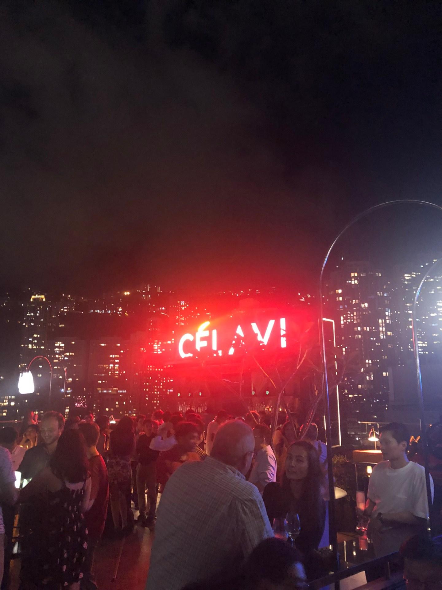 Ce La Vi in Lan Kwai Fong, Hong Kong