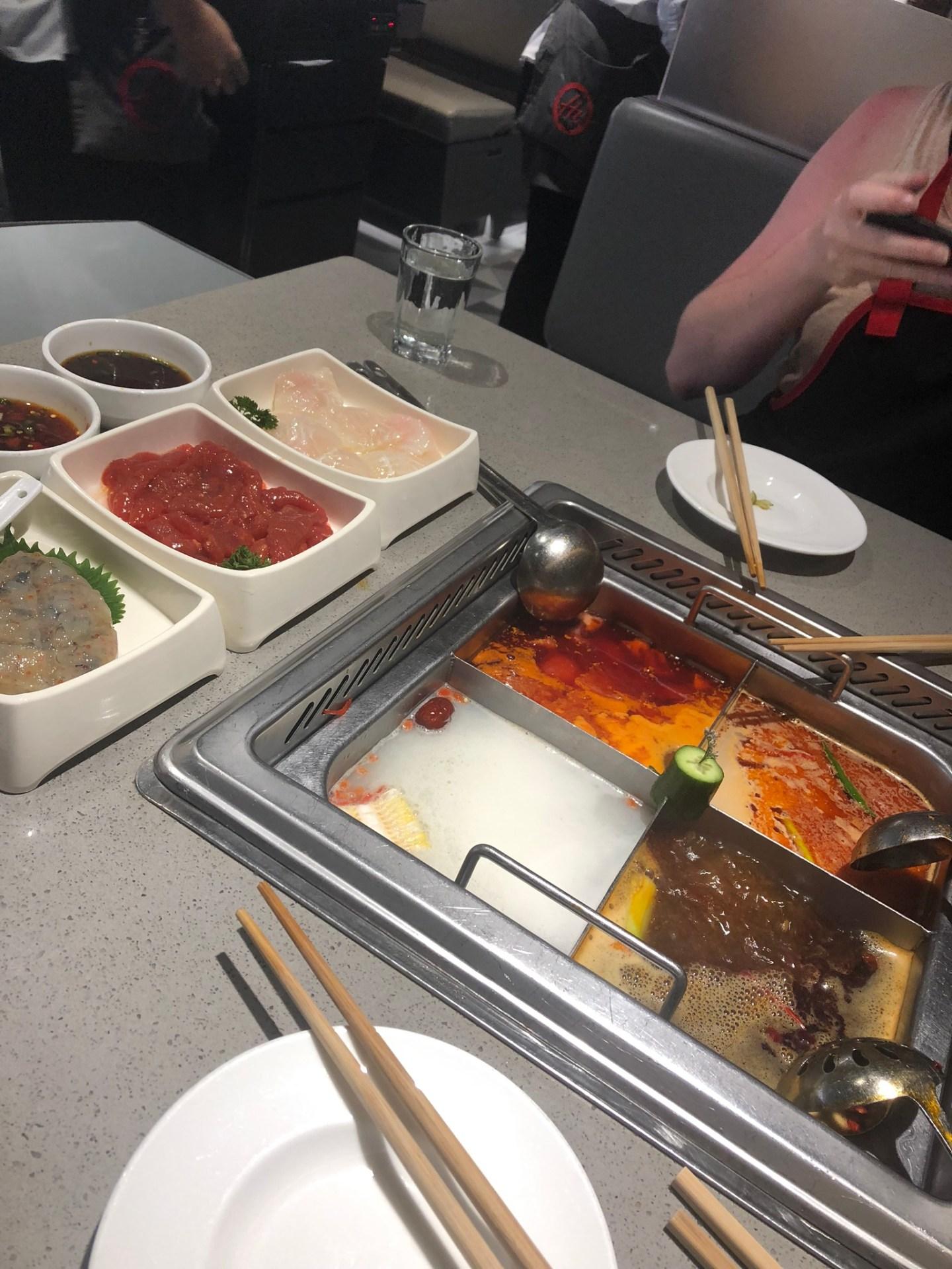 Haidilao Hotpot Restaurant, Hong Kong