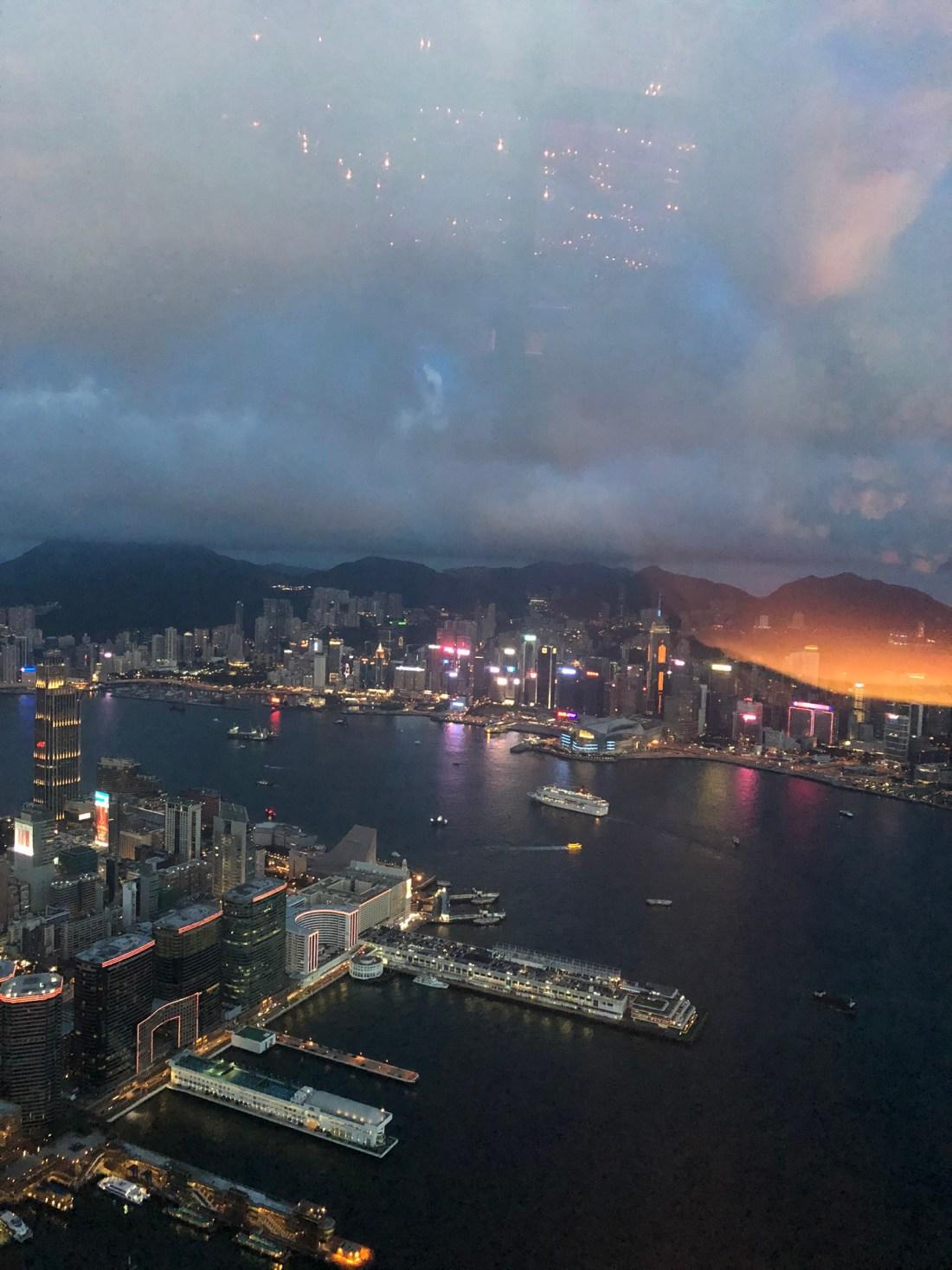 View from Ozone Bar, Hong Kong