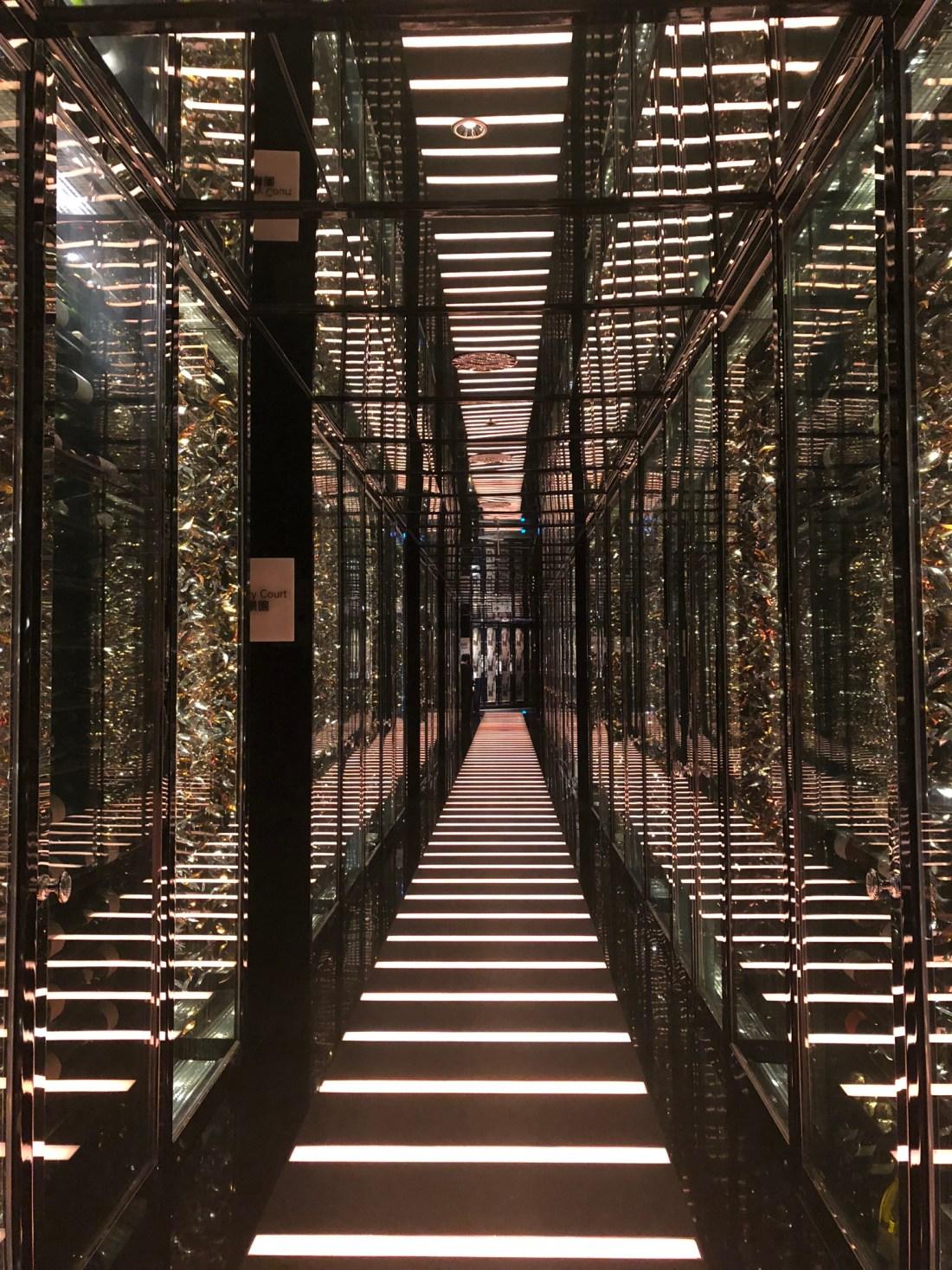 Inside the Ritz Carlton, Hong Kong