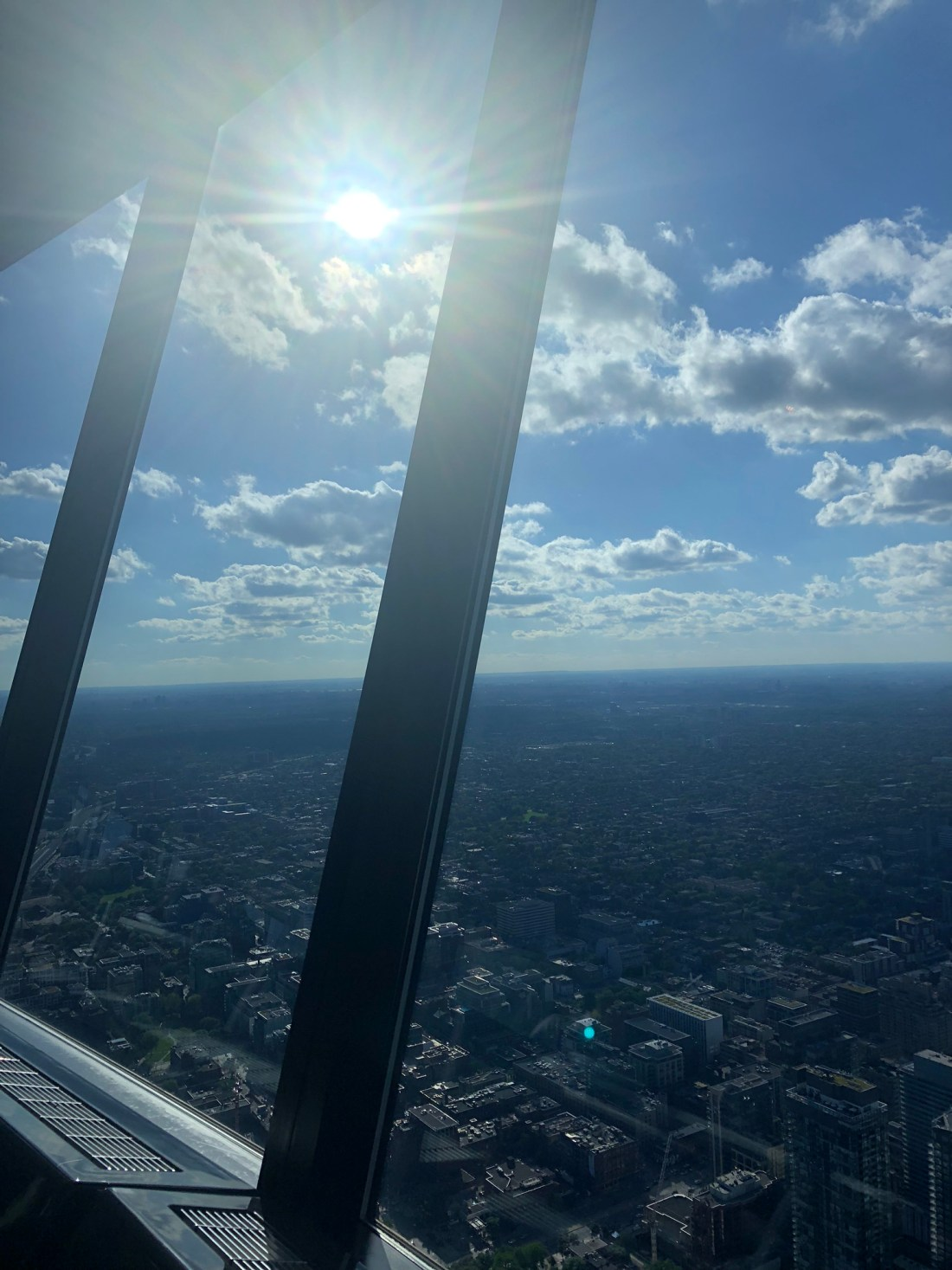 Summer in Toronto: Views from the CN Tower