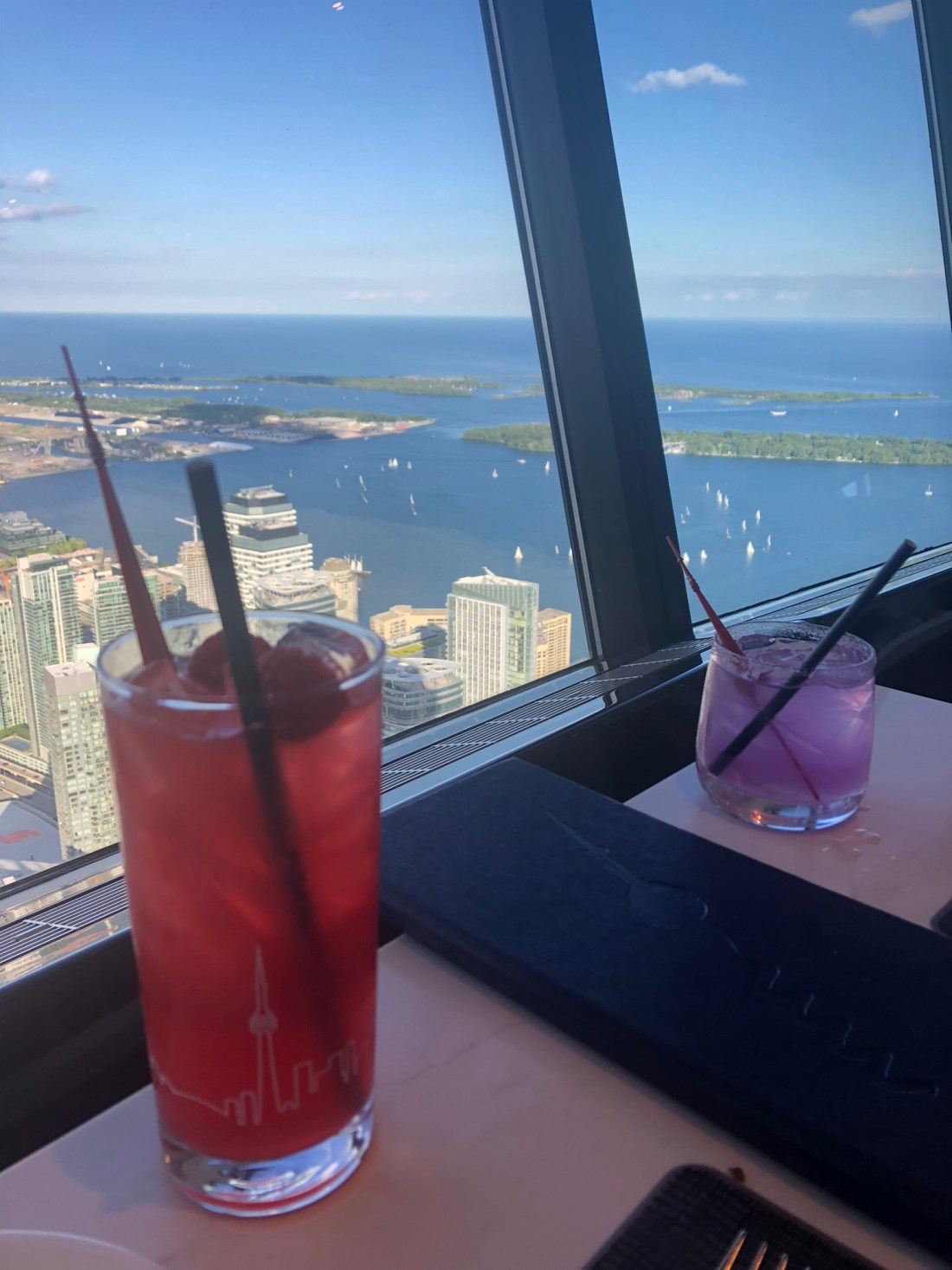 Summer in Toronto: cocktails in the CN Tower