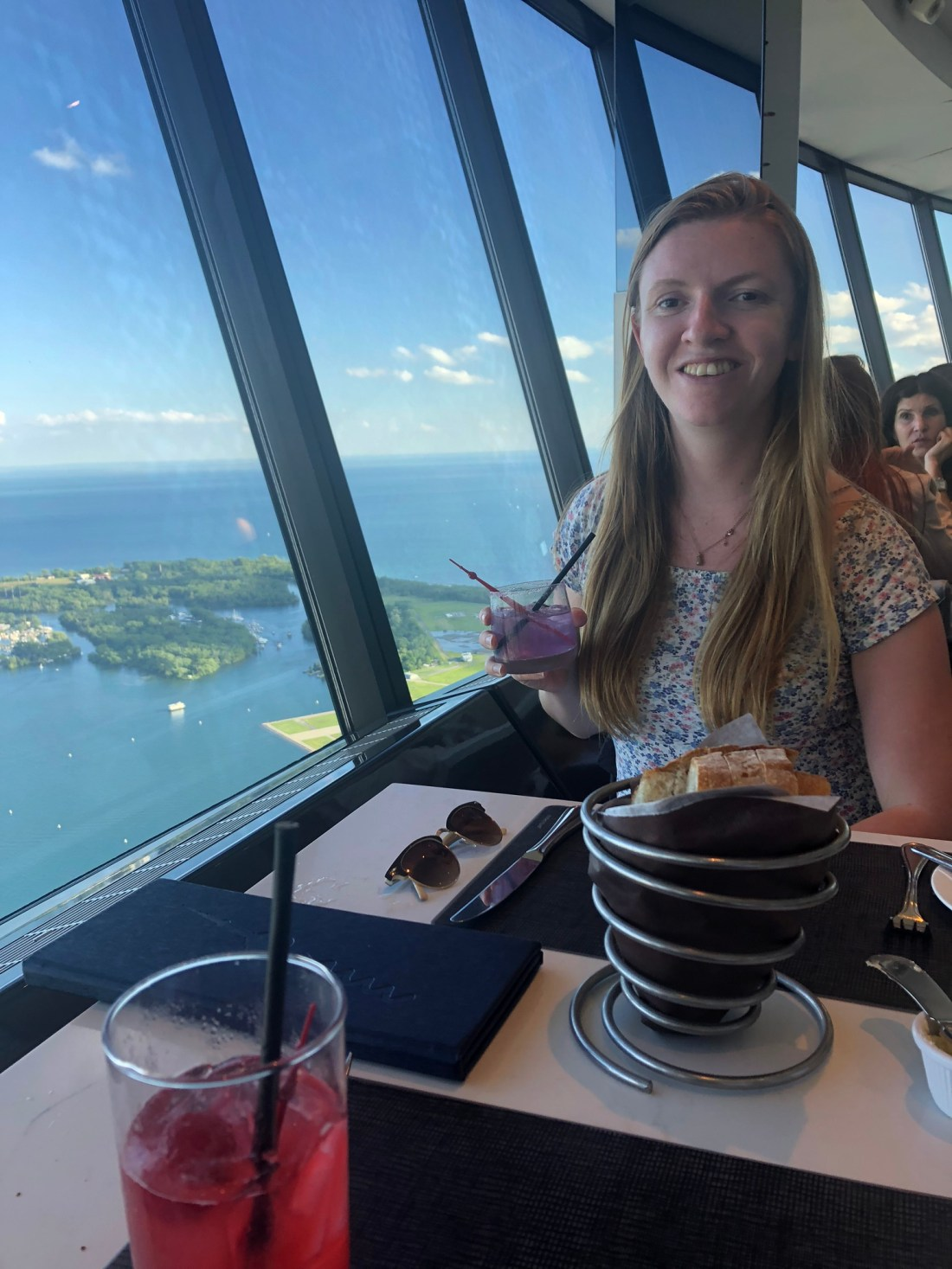 Dinner in the CN Tower