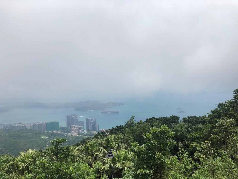 Views from Victoria Peak, Hong Kong