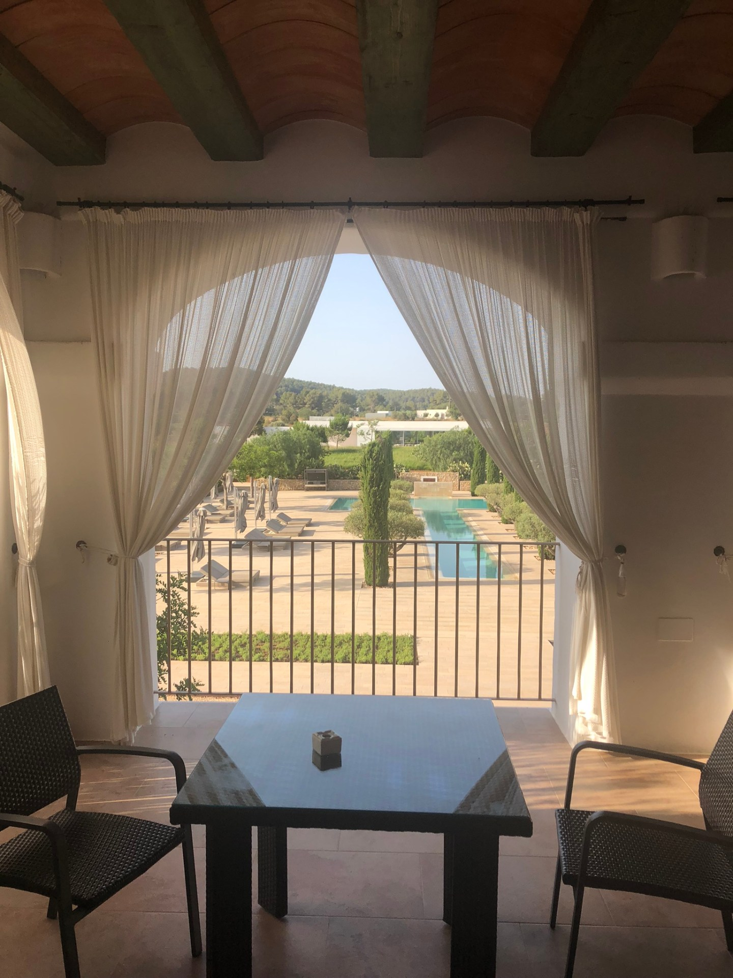 Room balcony at Ca Na Xica, Ibiza