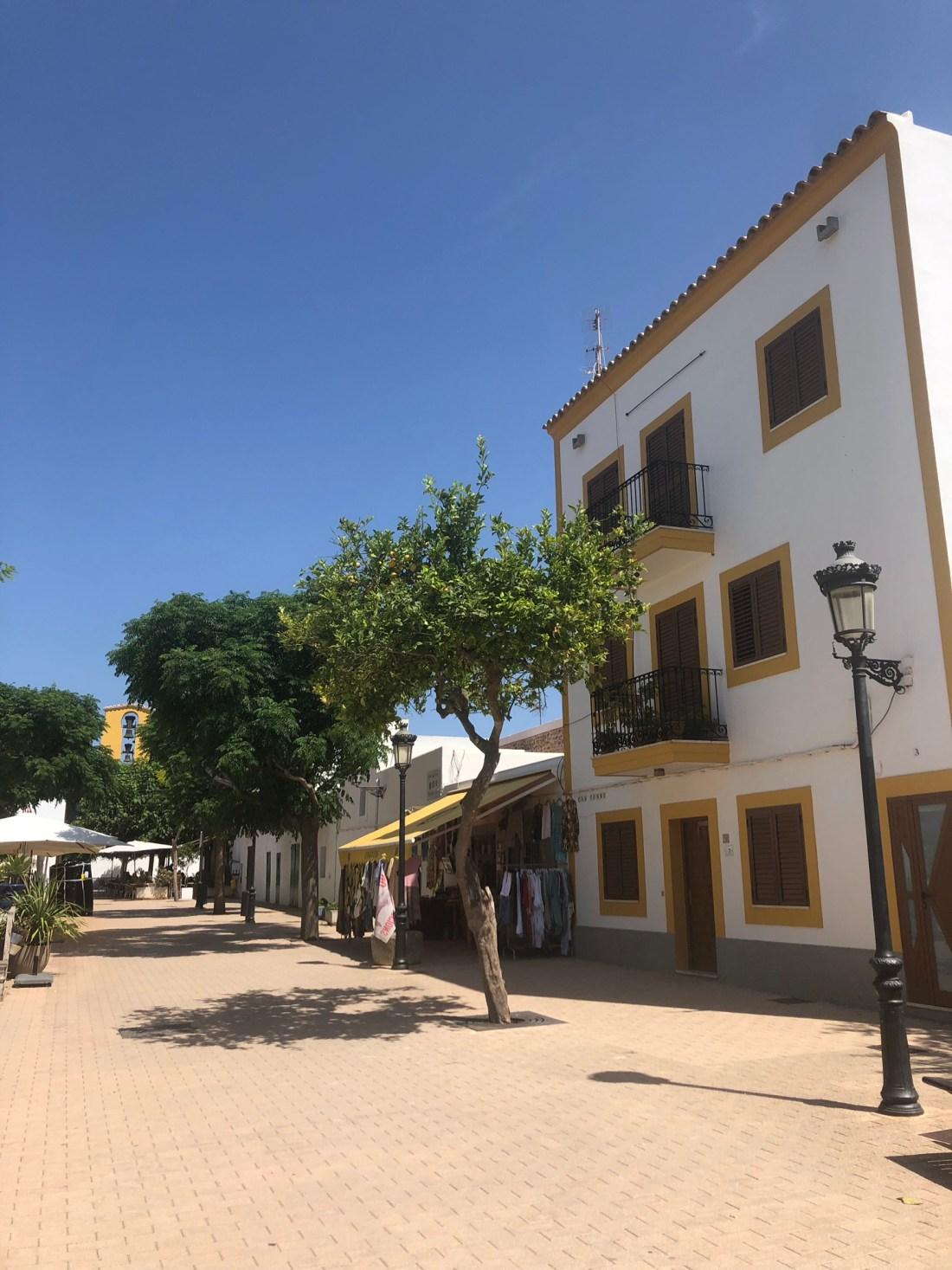 Architecture in Santa Gertrudis, Ibiza