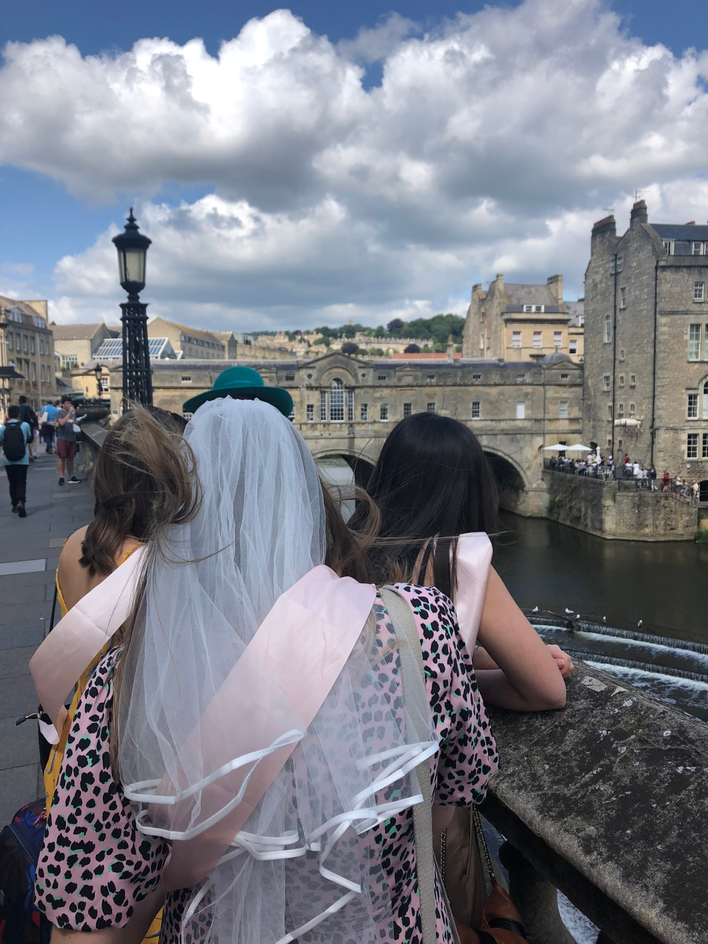 Bride to be in Bath