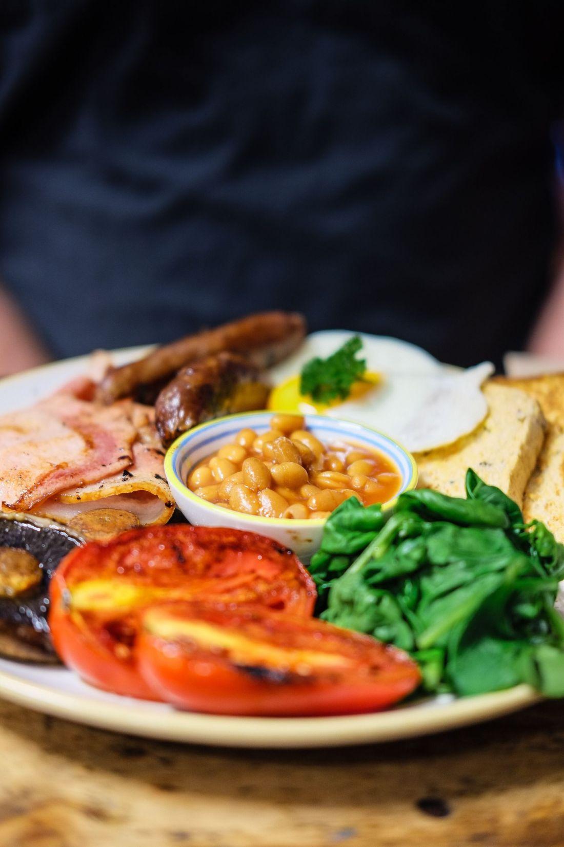 Breakfast in Cheltenham