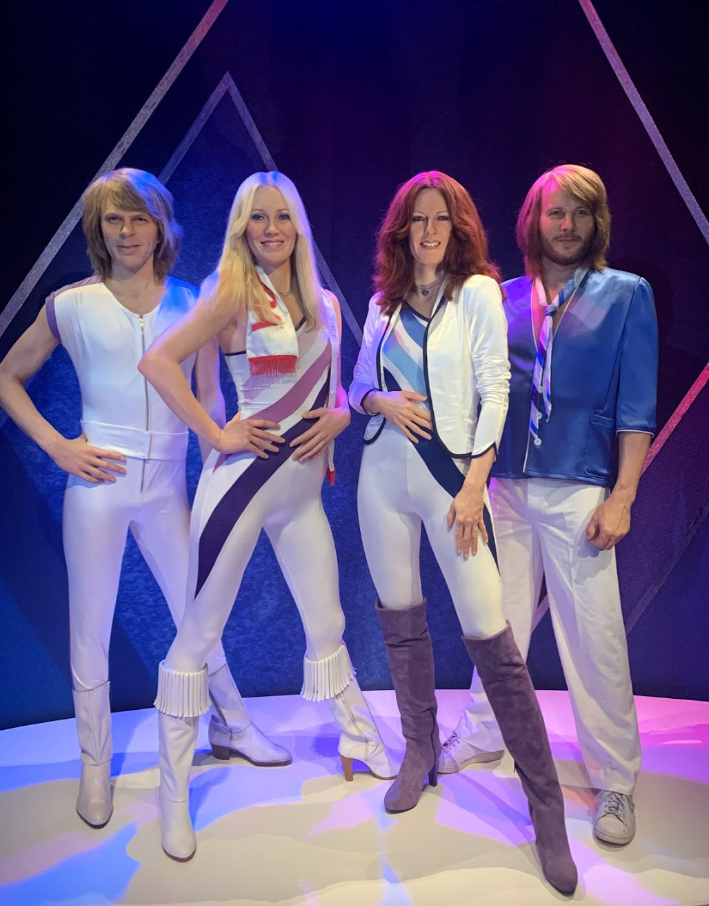 Abba figures in Stockholm, Sweden