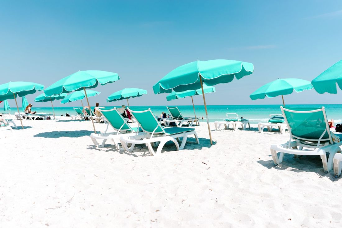 Best places for winter sun: Miami, Florida