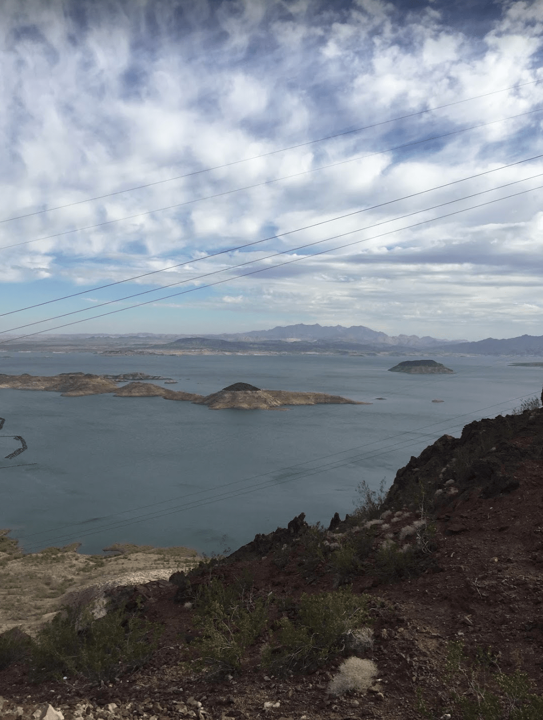Lake Mead near the Hoover Dam in Nevada