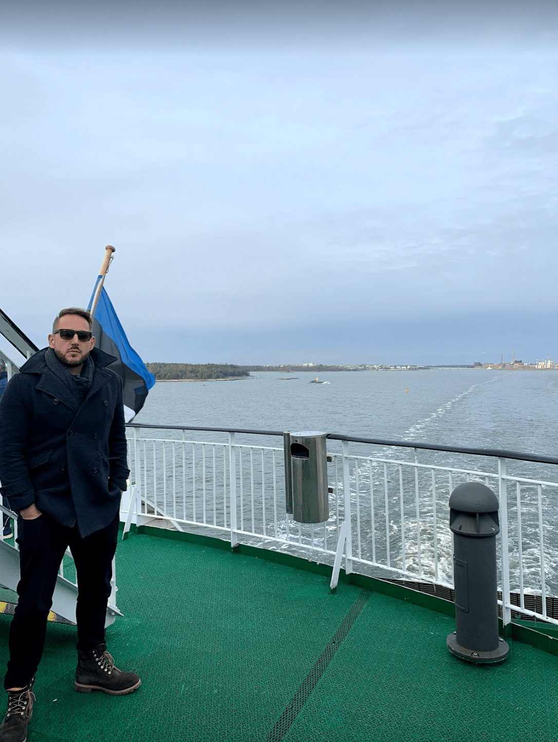 Ferry from Helsinki to Tallinn, Estonia