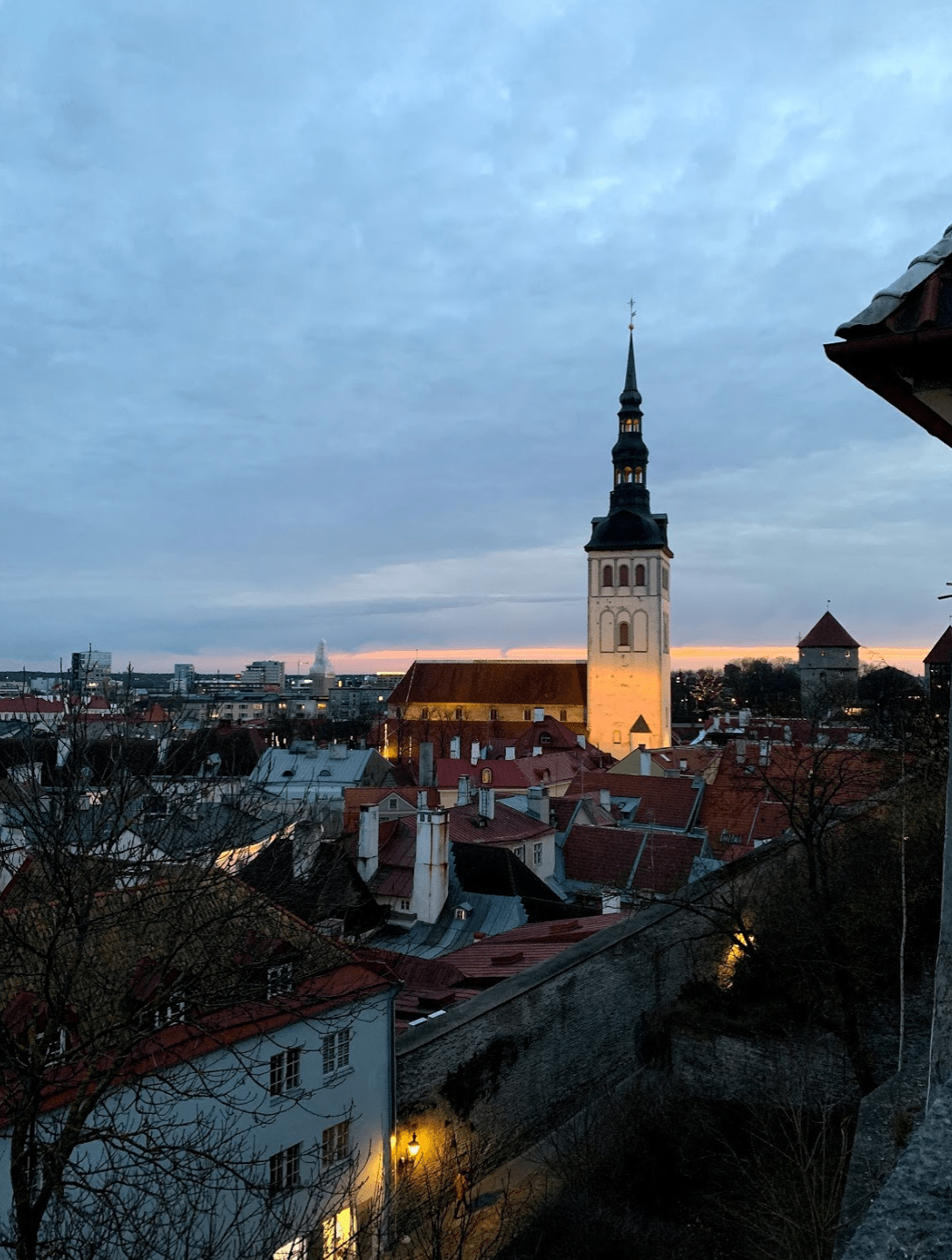 The Times We Had wall, Kohtuotsa viewing platform on Toompea Hill, Tallinn