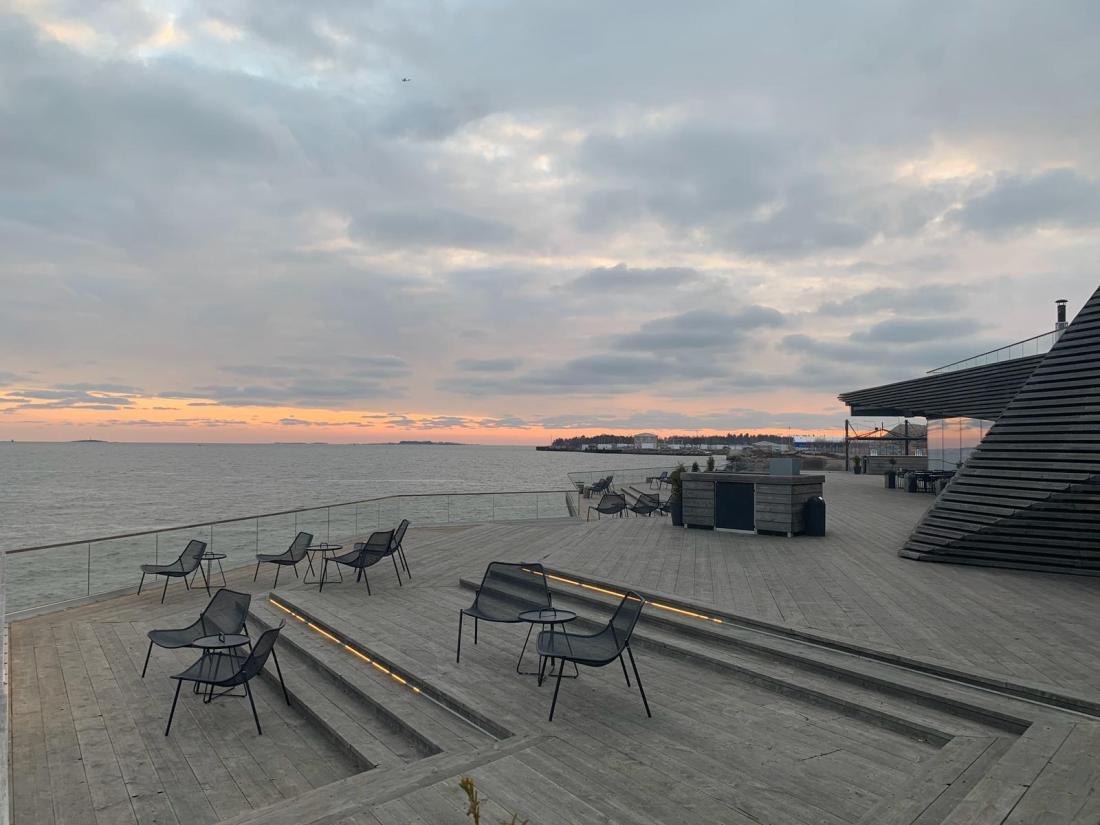 Deck at Löyly, Helsinki