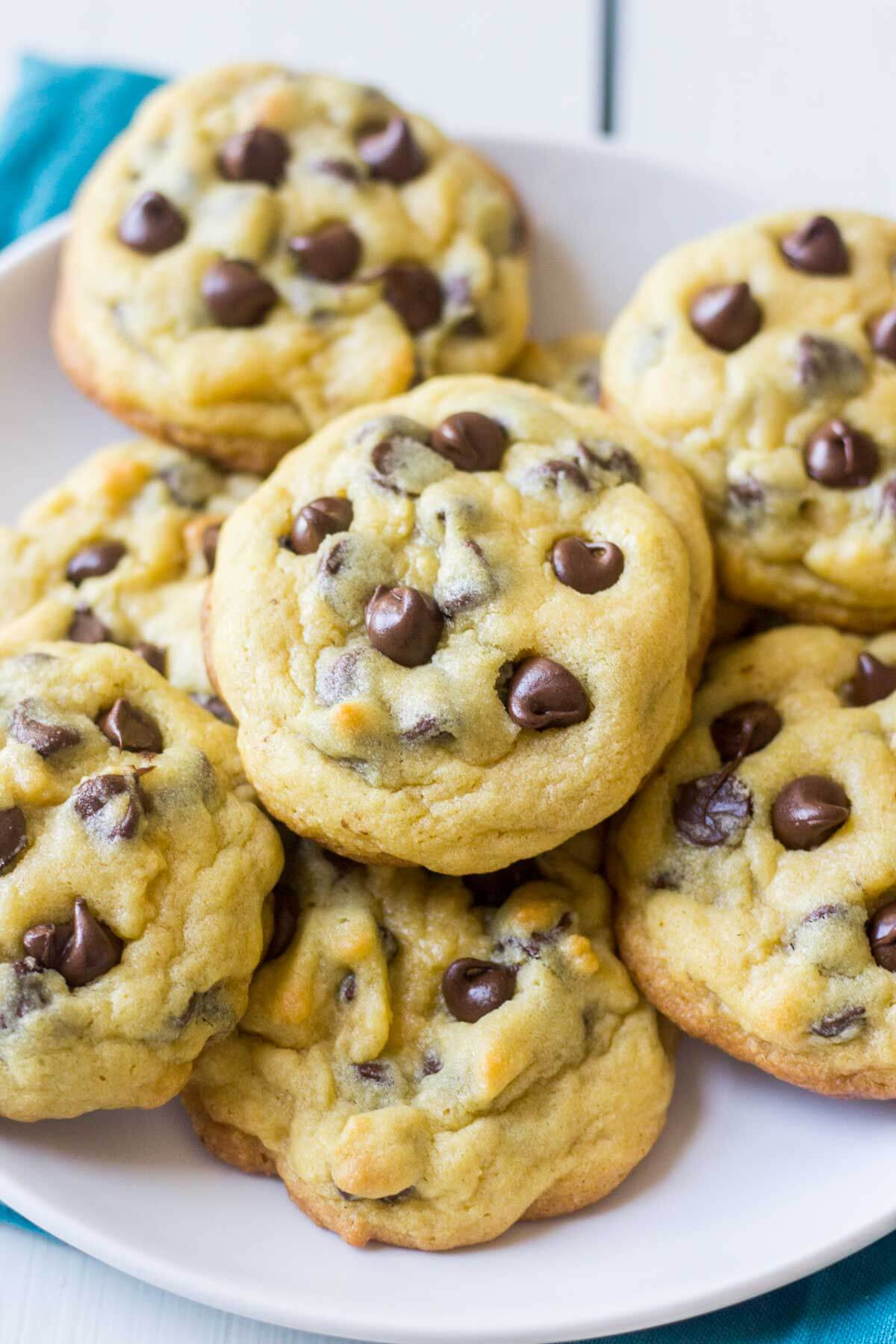 Chocolate chip pudding cookies what molly made soft and chewy these chocolate chip pudding cookies are the best cookie recipe you will forumfinder Choice Image
