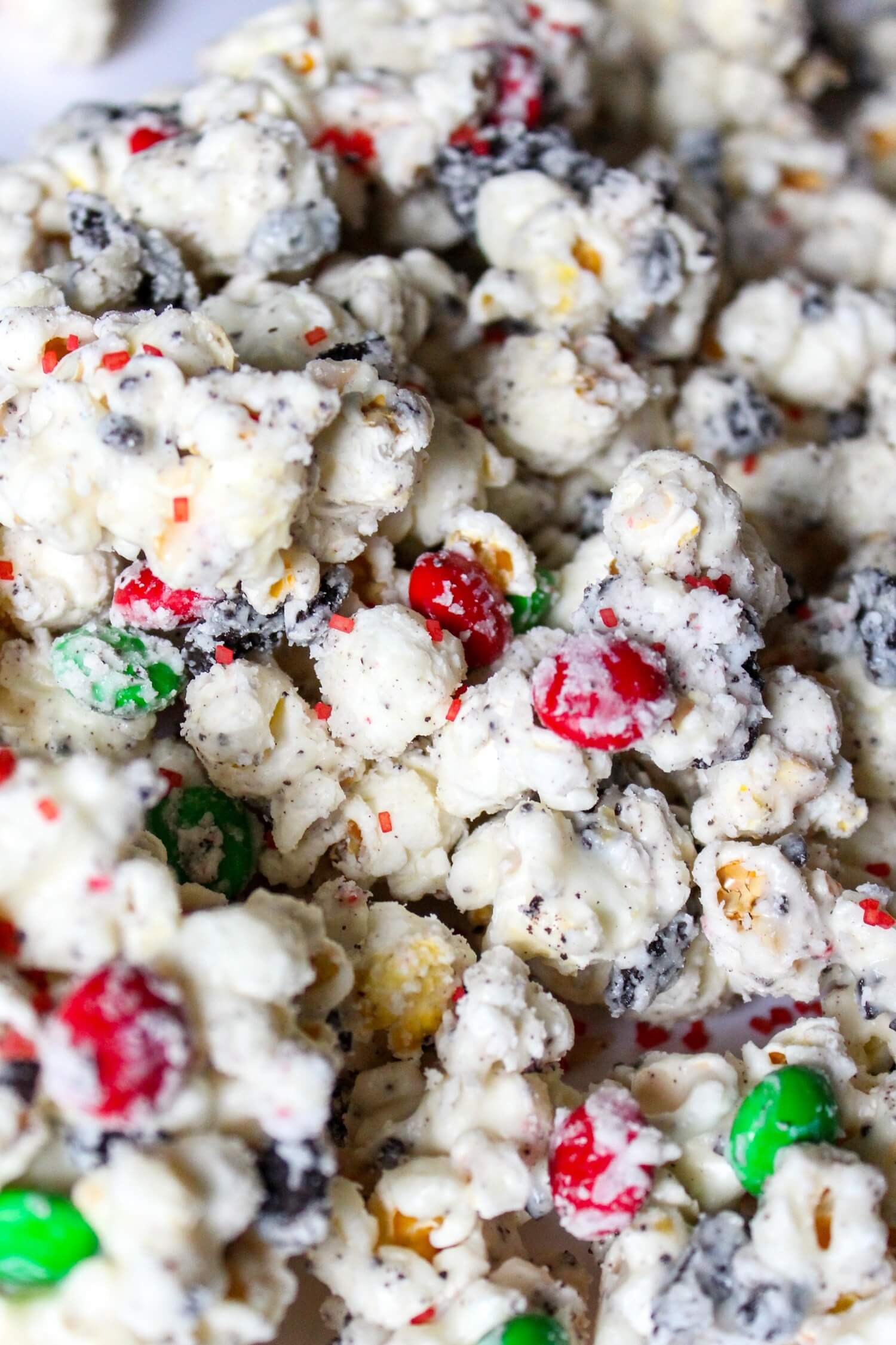 christmas popcorn snack mix what molly made