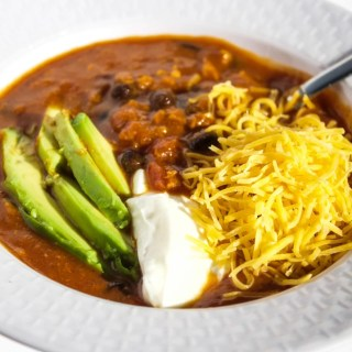 Slow Cooker Sweet Potato Chicken Chili