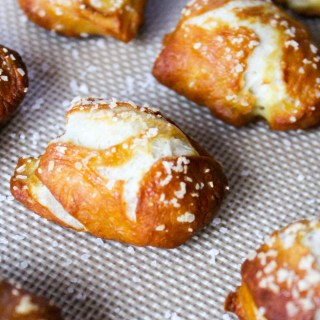 Soft Pretzel Bites with Beer Cheese Dip