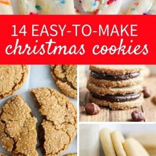 14 Easy-to-Make Christmas Cookies