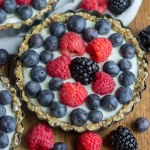 Mini Greek Yogurt Fruit Tart [Gluten Free]