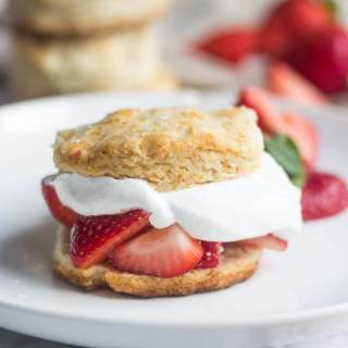 Skinny Strawberry Shortcake