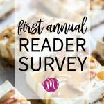First Annual Reader Survey