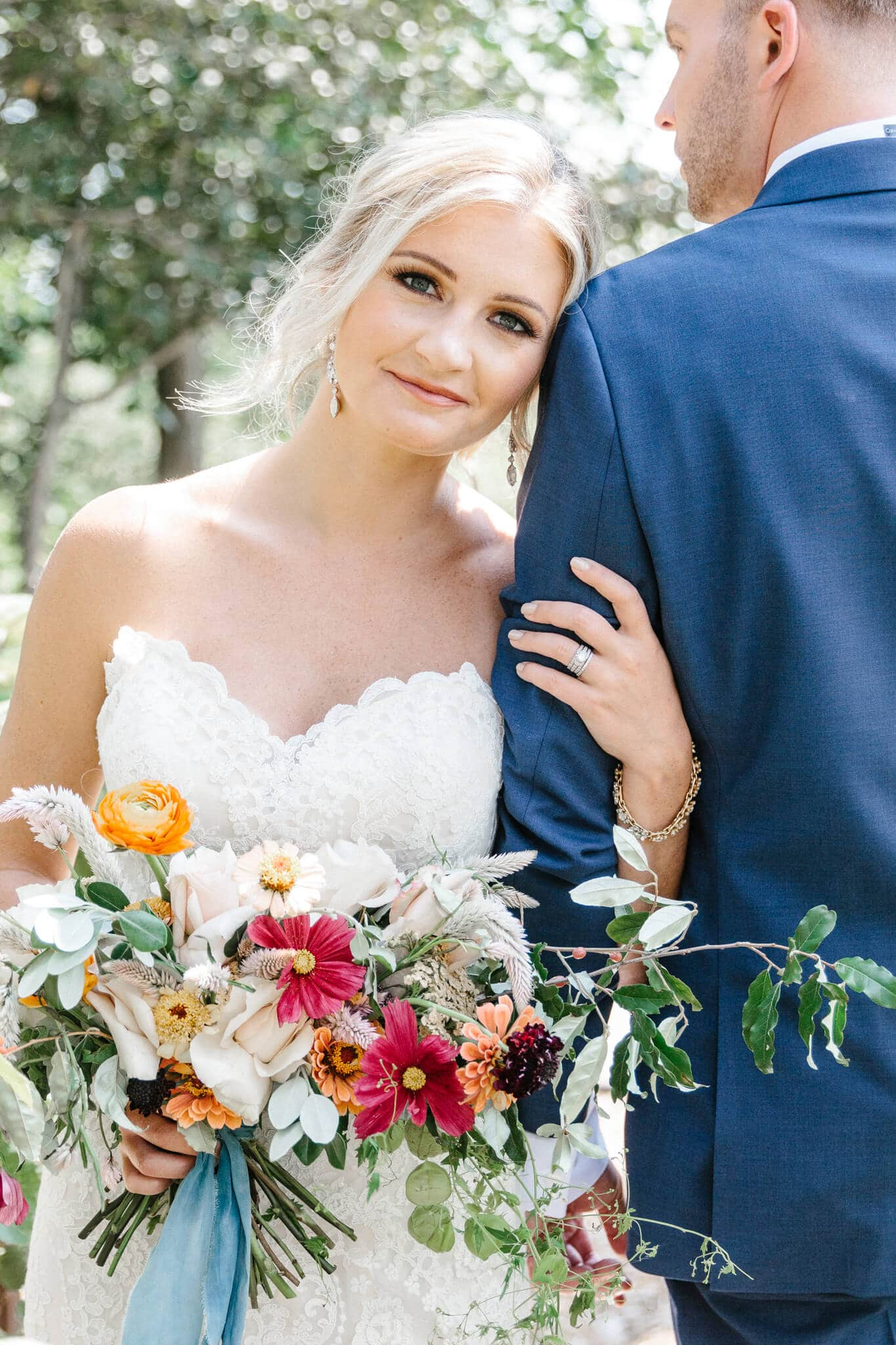 Dusty Blue Styled Wedding Shoot is your must have wedding day decorations inspiration. From wedding hair, wedding centerpieces and wedding flowers to wedding dress, bridesmaid dress and wedding venues, this gorgeous shoot will spark all your wedding ideas! A gorgeous fall wedding is happening now.