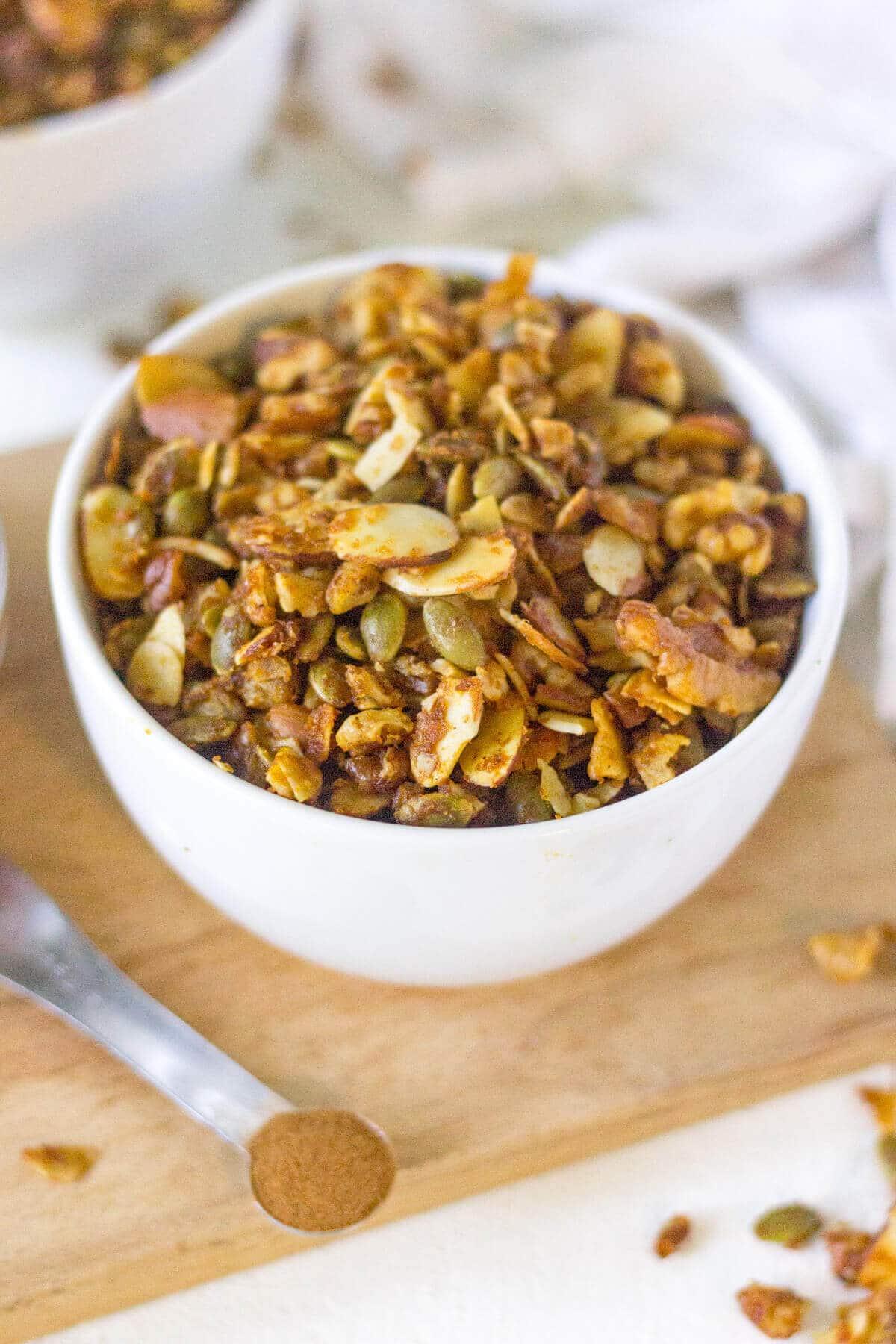 low carb grain free granola