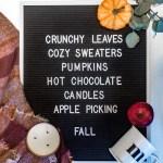 Things I'm Loving This Fall