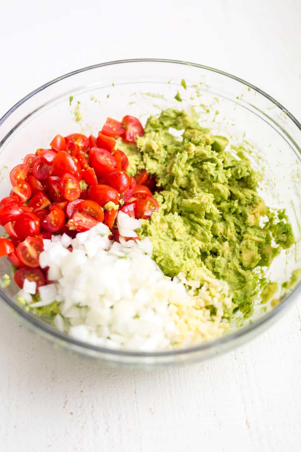 healthy guacamole ingredients