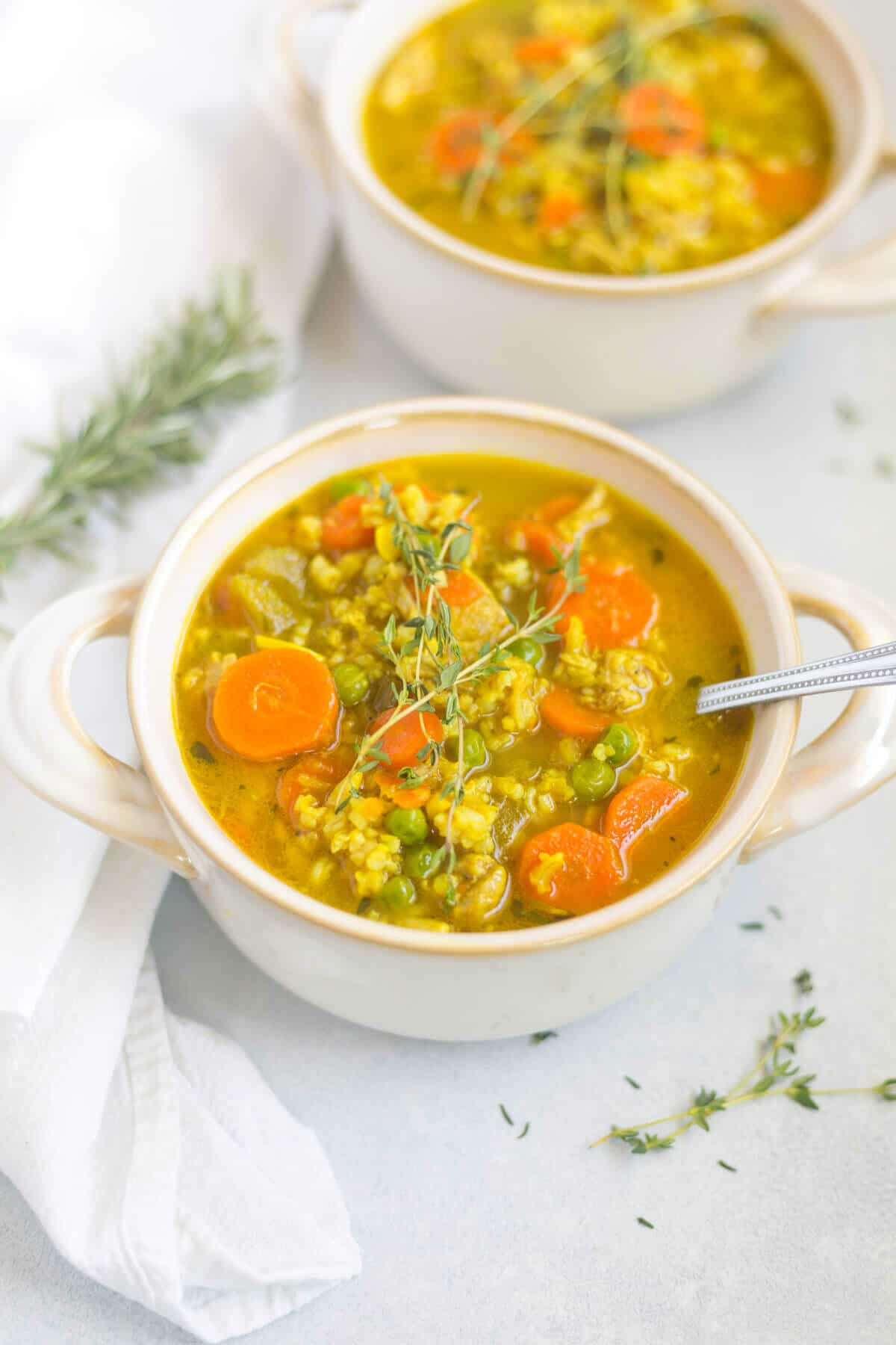 recipe for chicken and rice soup