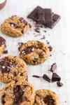 Coconut flour chocolate chip cookies are an easy, chewy and healthy cookie recipe! This recipe is paleo so it's naturally gluten free, dairy free and refined sugar free. In just one bowl and a few minutes you can the best coconut flour cookies.