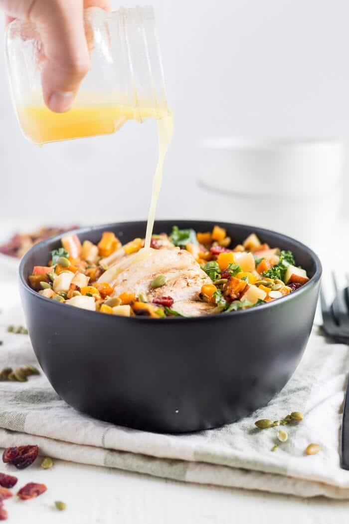 fall salad recipe