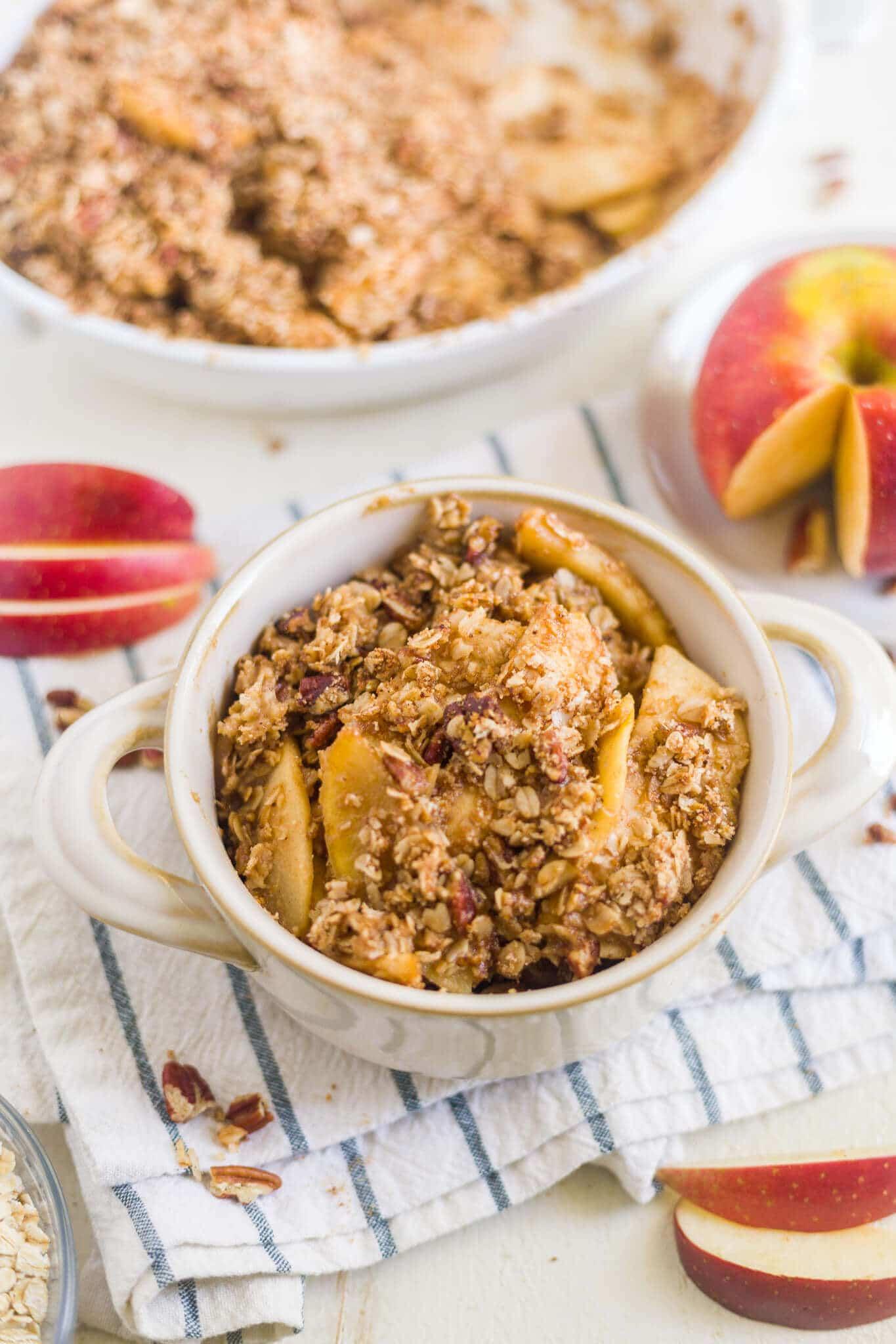 healthy apple crisp recipe no sugar