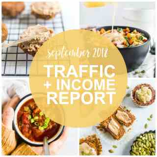 Traffic and Income Report — September 2018