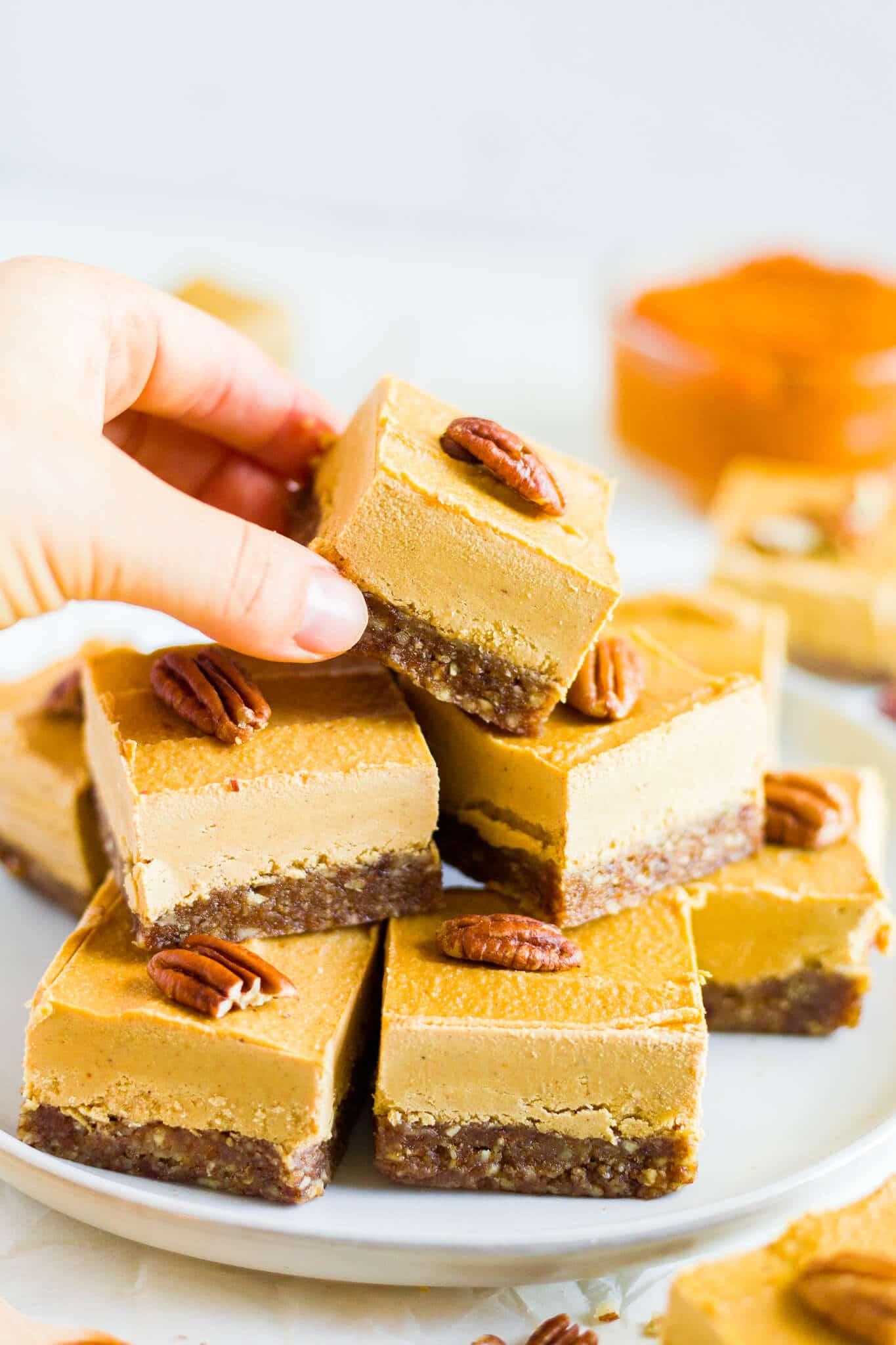 vegan pumpkin pie cheesecake recipe