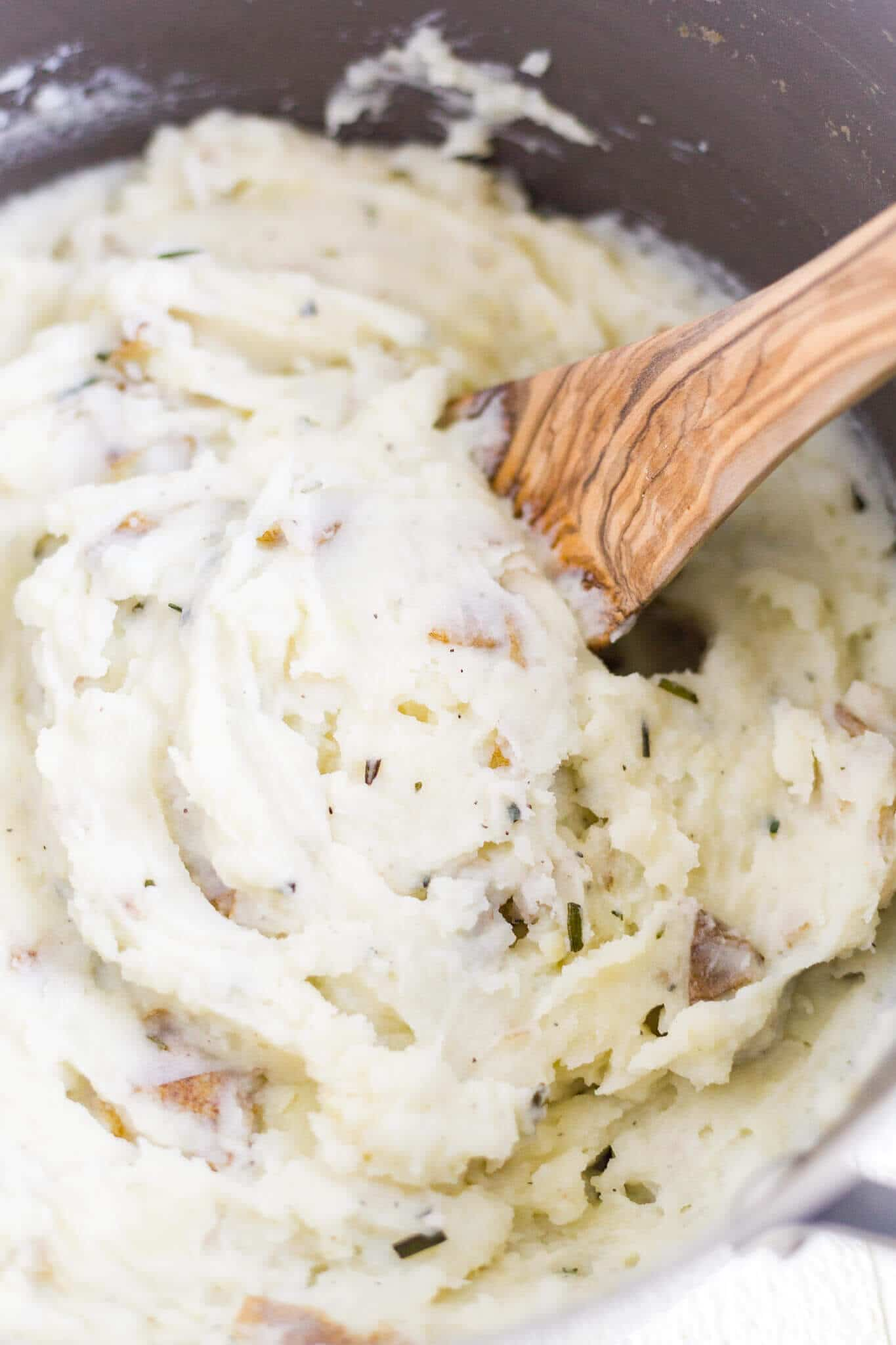 dairy free garlic mashed potatoes