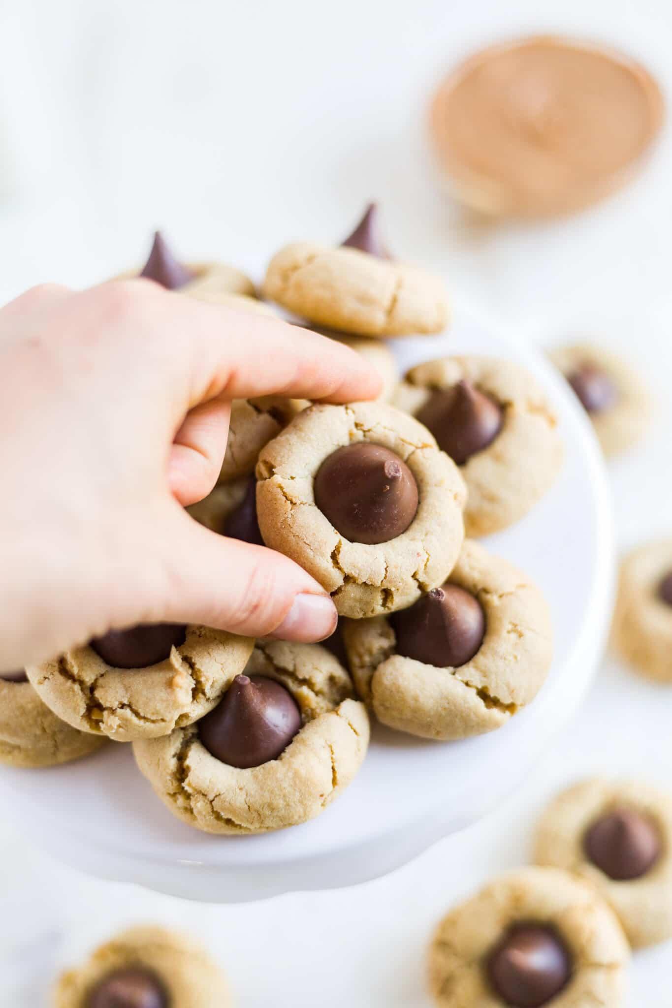 Hershey's peanut butter blossoms gluten free