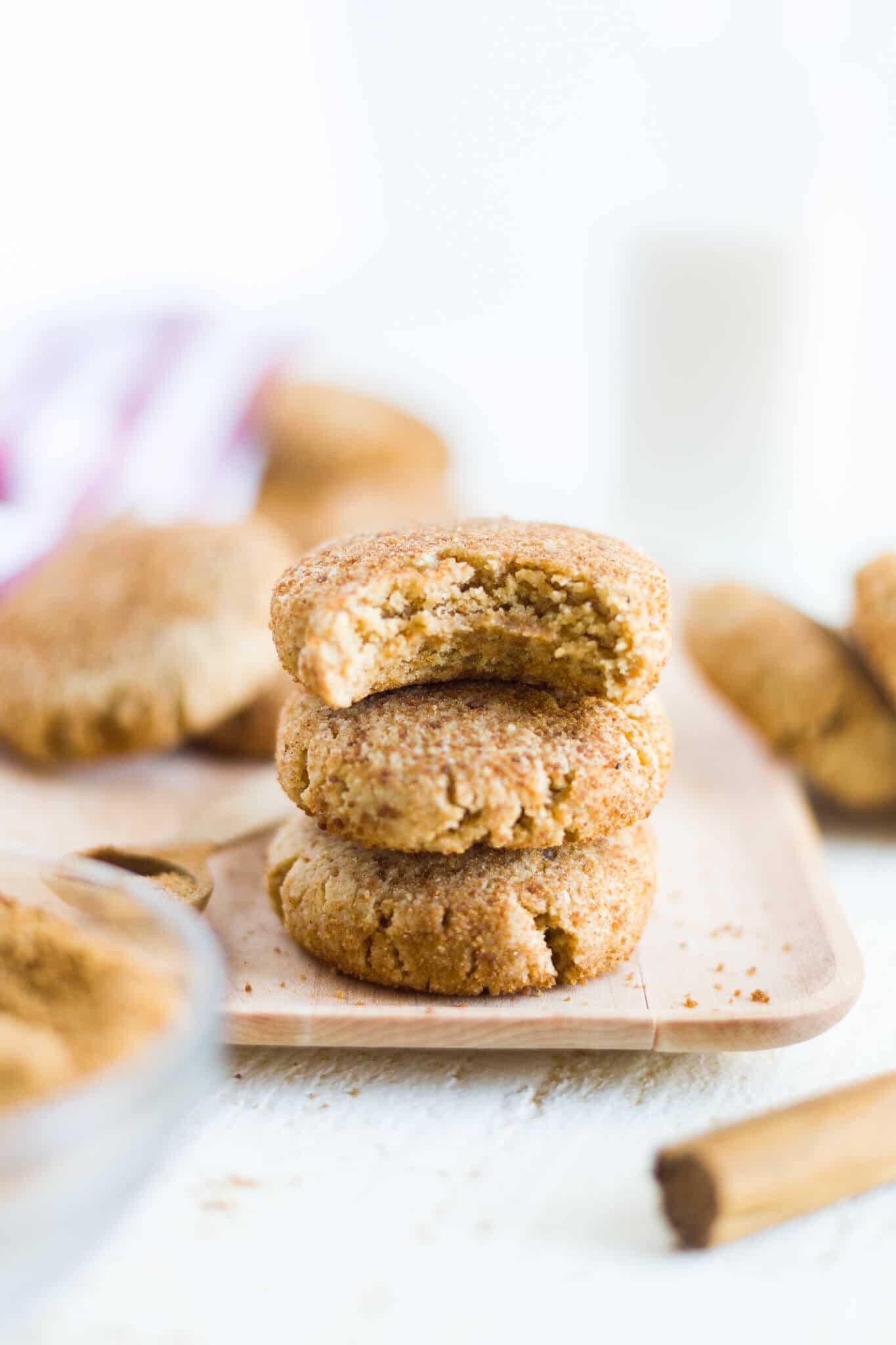 gluten free snickerdoodles