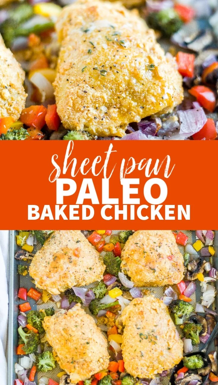 paleo baked chicken recipe
