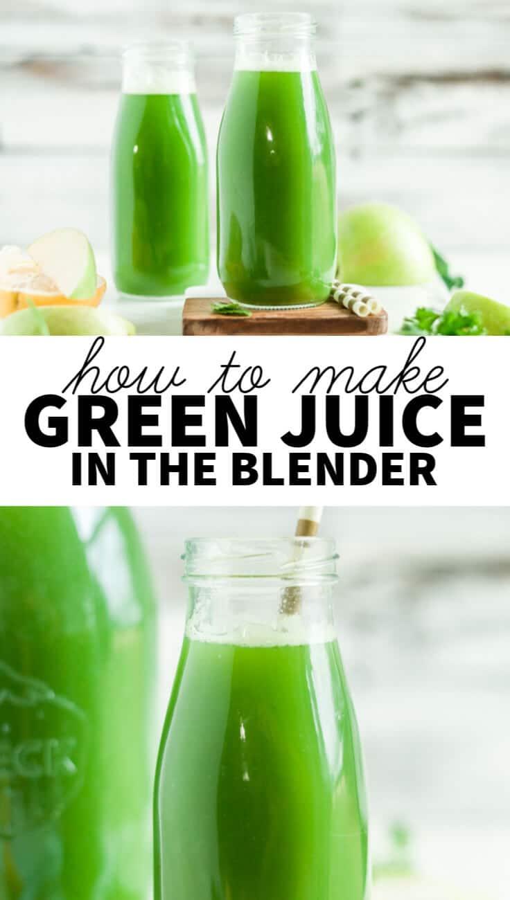 green juice recipe vitamix