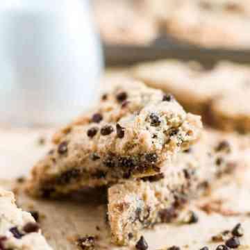 gluten free scones chocolate chip