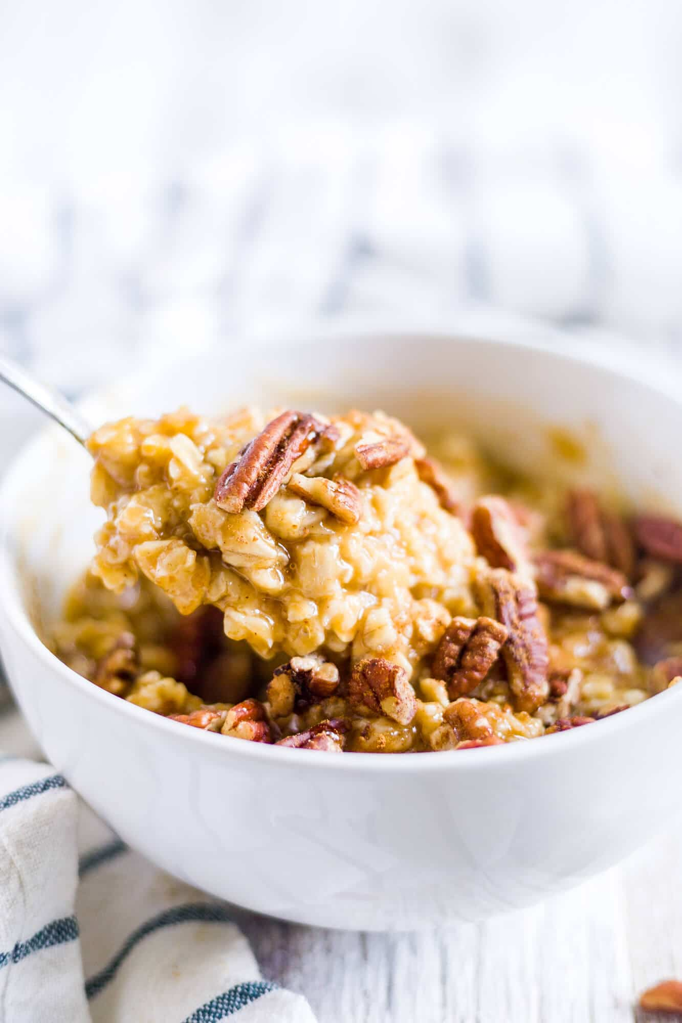 pumpkin oatmeal breakfast