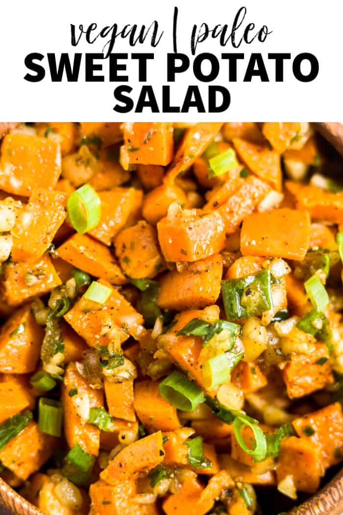 easy sweet potato salad Pin