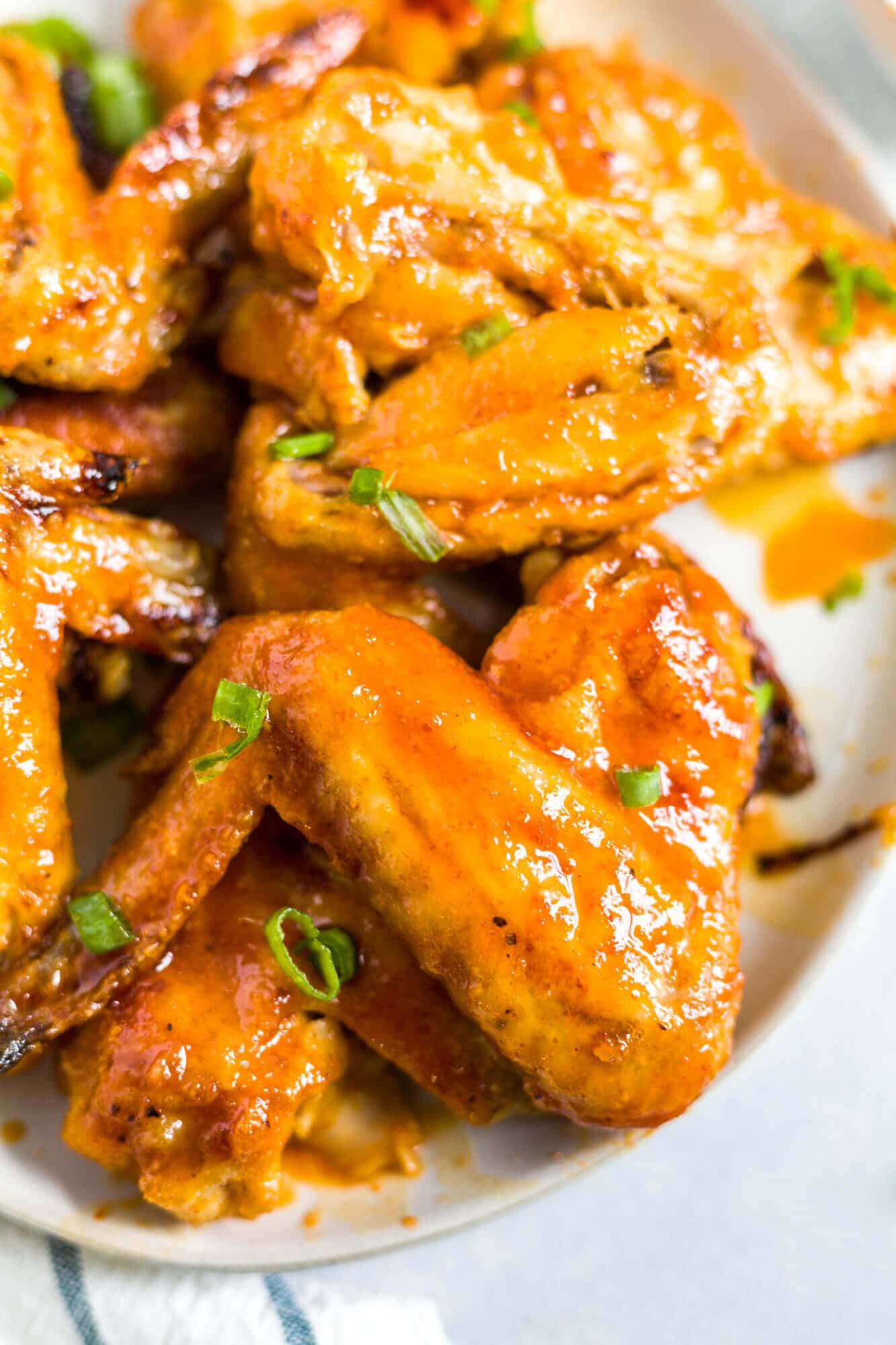 baked honey sriracha wings