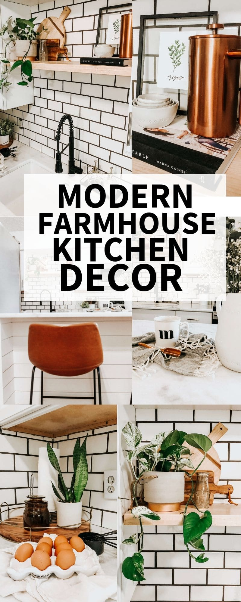 modern farmhouse kitchen decor ideas