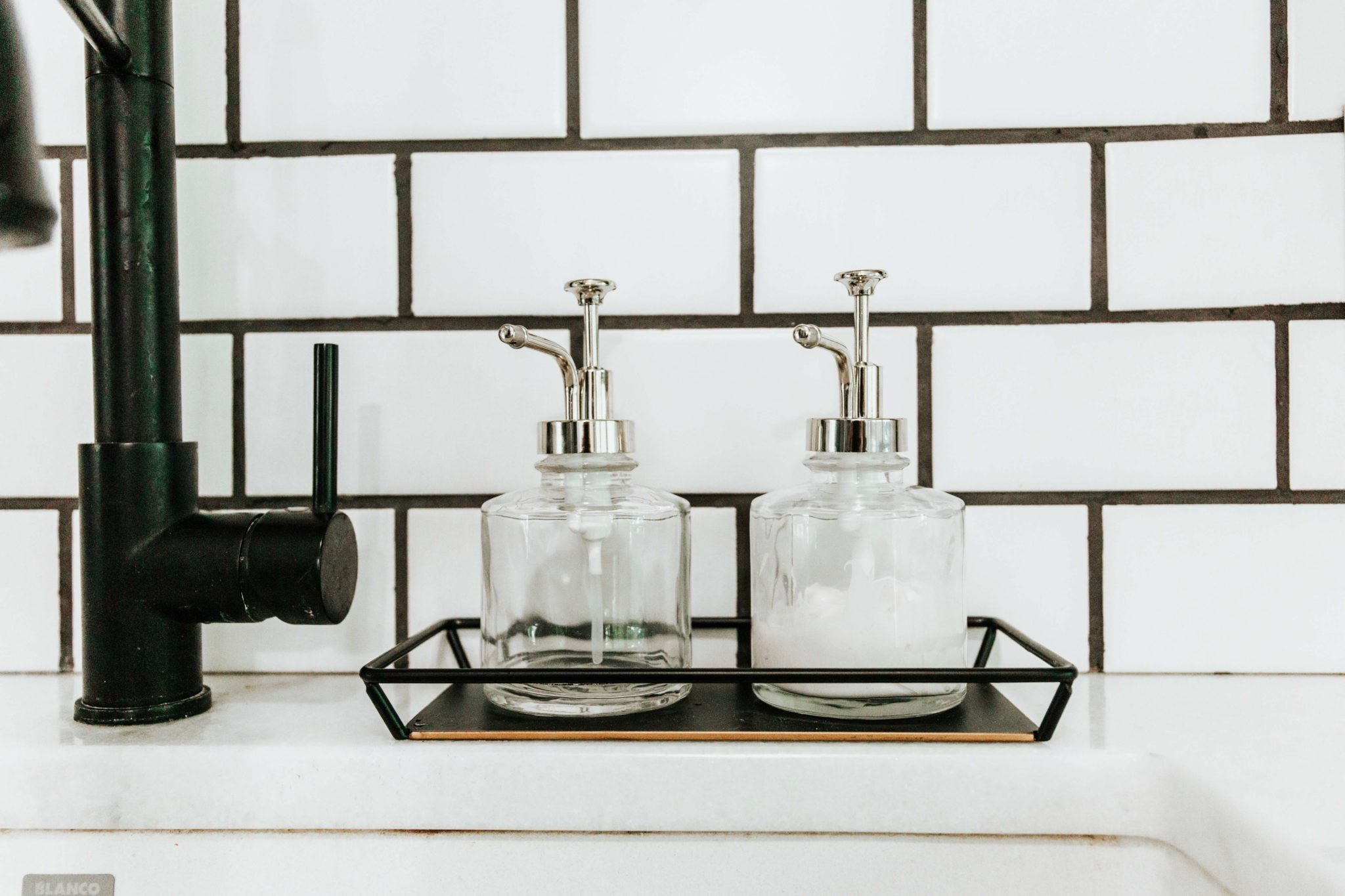 farmhouse kitchen soap dispensers