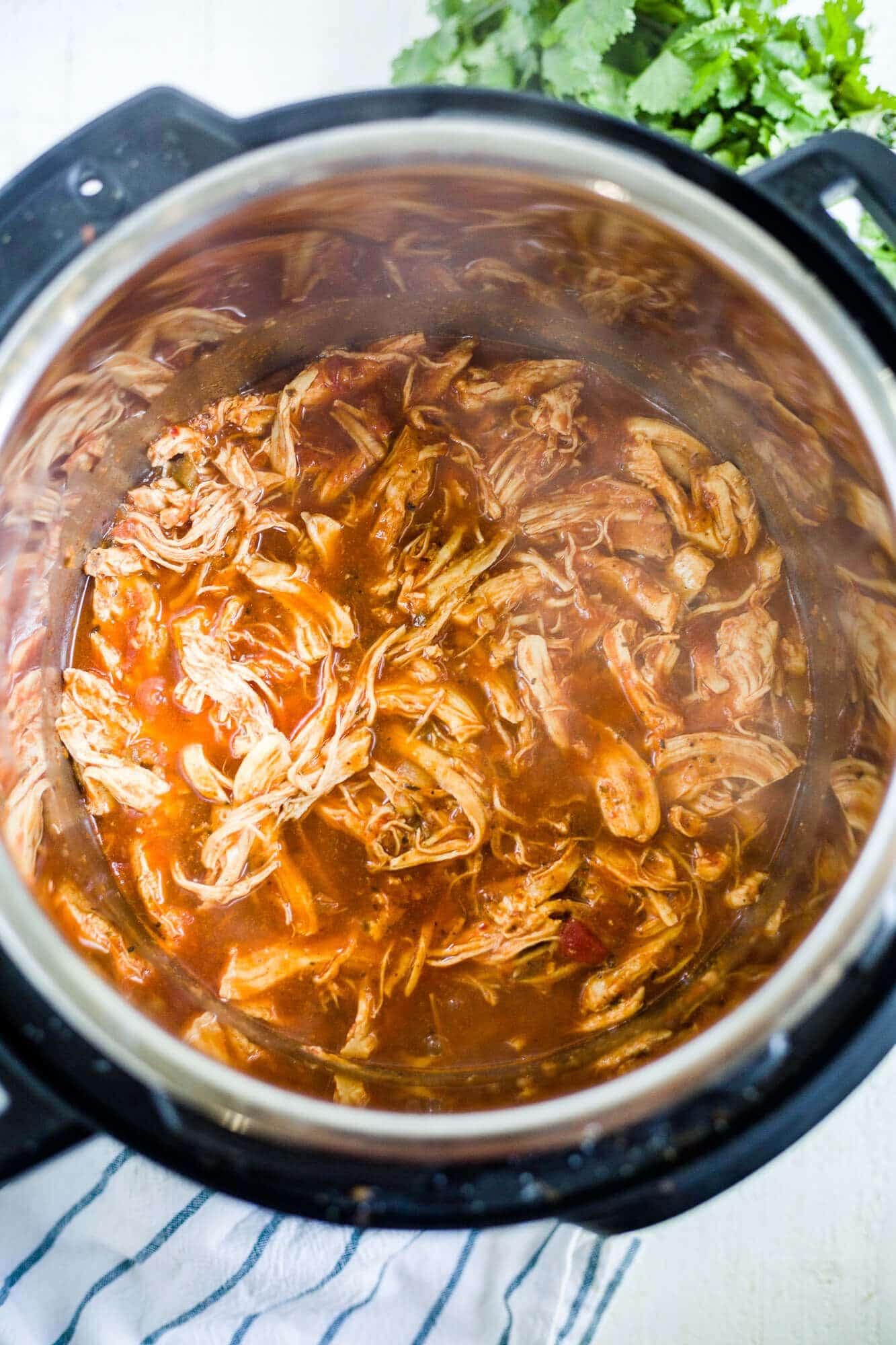 chicken salsa instant pot